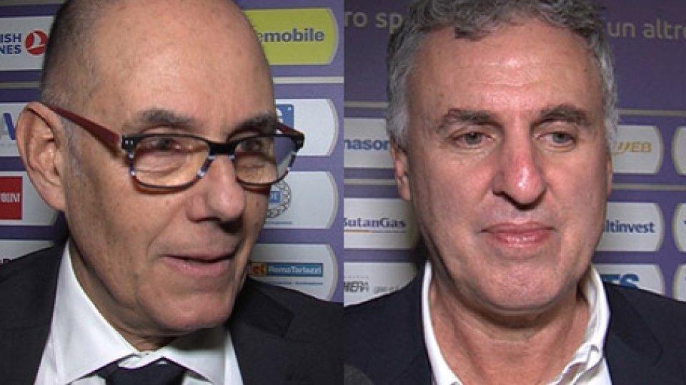 Attilio Caja Massimo GalliPesaro-Varese, parlano i coach