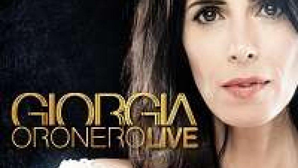 Giorgia, il 19 gennaio esce Oronero Live