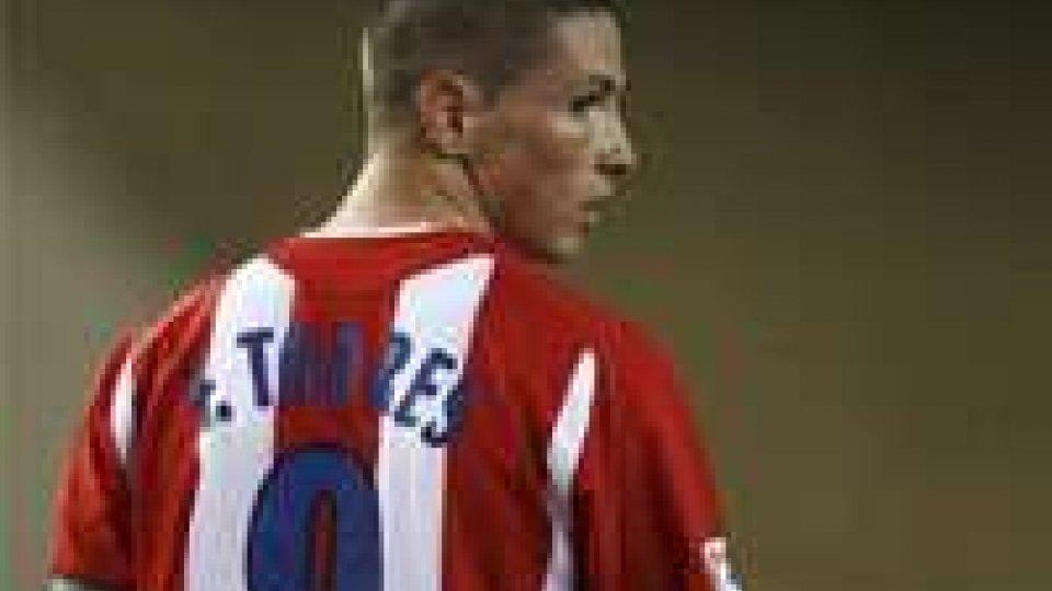 Fernando Torres all'Atletico potrebbe debuttare contro il Real Madrid