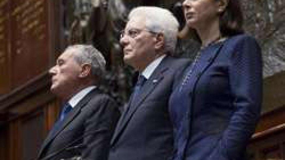 Sergio Mattarella Pietro Grasso Laura Boldrini