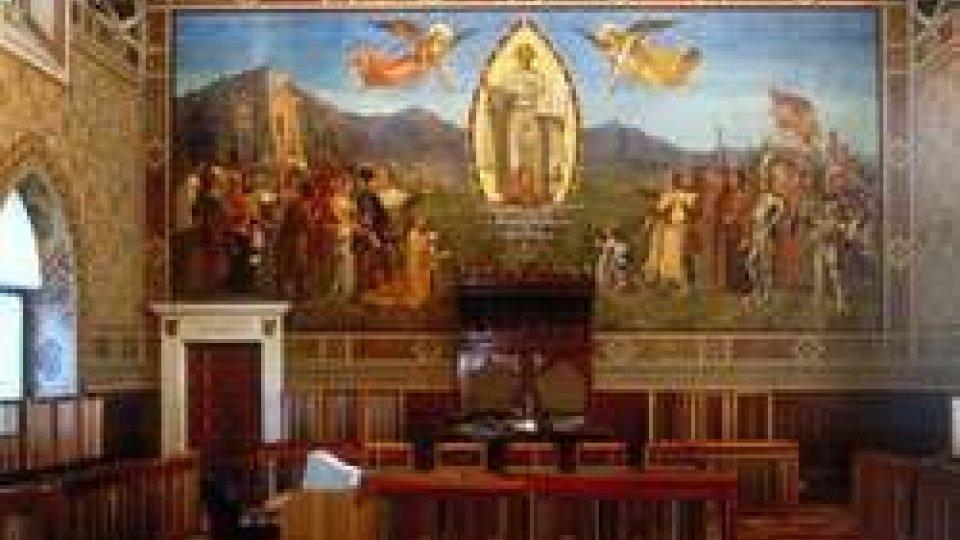 Lunedì riprendono i lavori del Consiglio Grande e Generale.