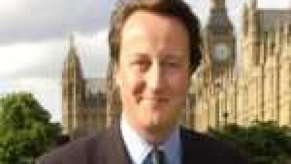 GB:prime crepe nel governo di David Cameron
