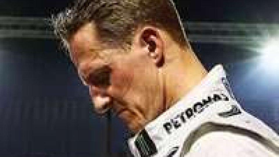 Schumacher, secondo The Times sciava a 60-100 km all'ora