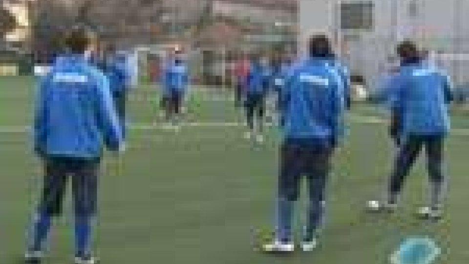 Il San Marino ha ripreso ad allenarsi