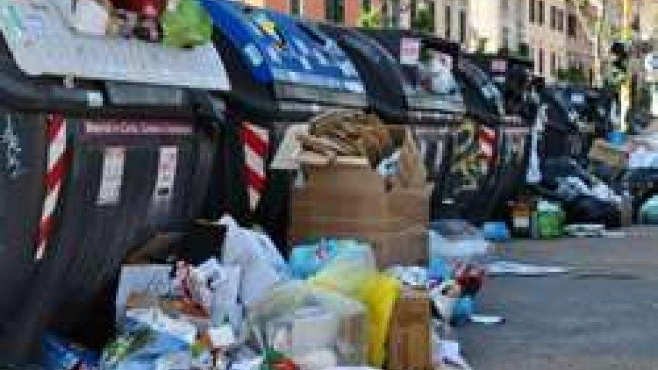 Emergenza rifiuti a Roma