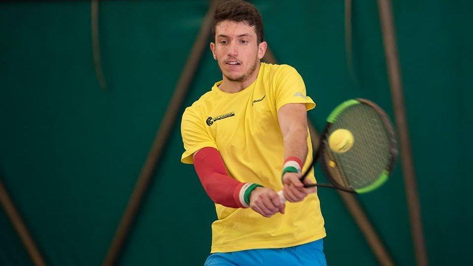 Federico Bertuccioli alle pre-qualificazioni degli Internazionali d'Italia