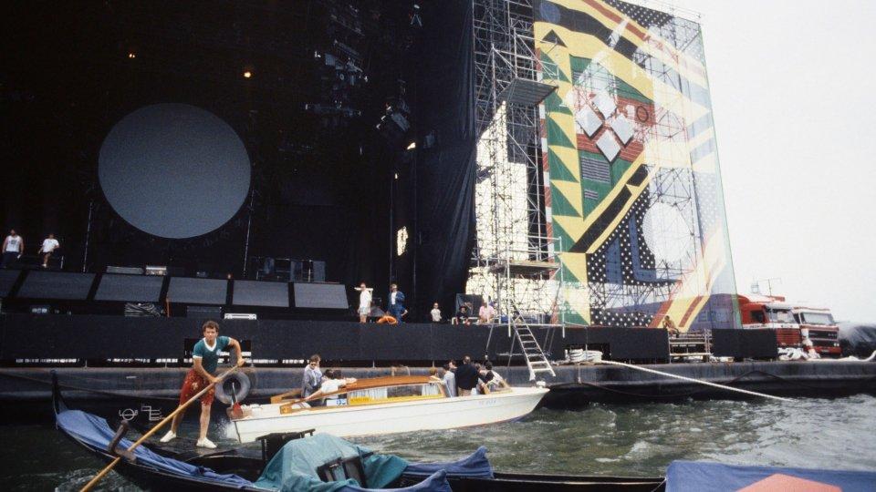 30 anni fa i Pink Floyd a Venezia