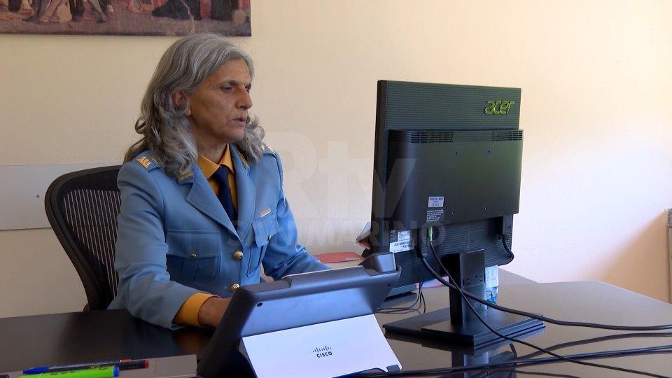 Il comandante Albina ViciniIl comandante Albina Vicini da oggi saluta i suoi agenti: dopo le ferie, l'aspetta la pensione