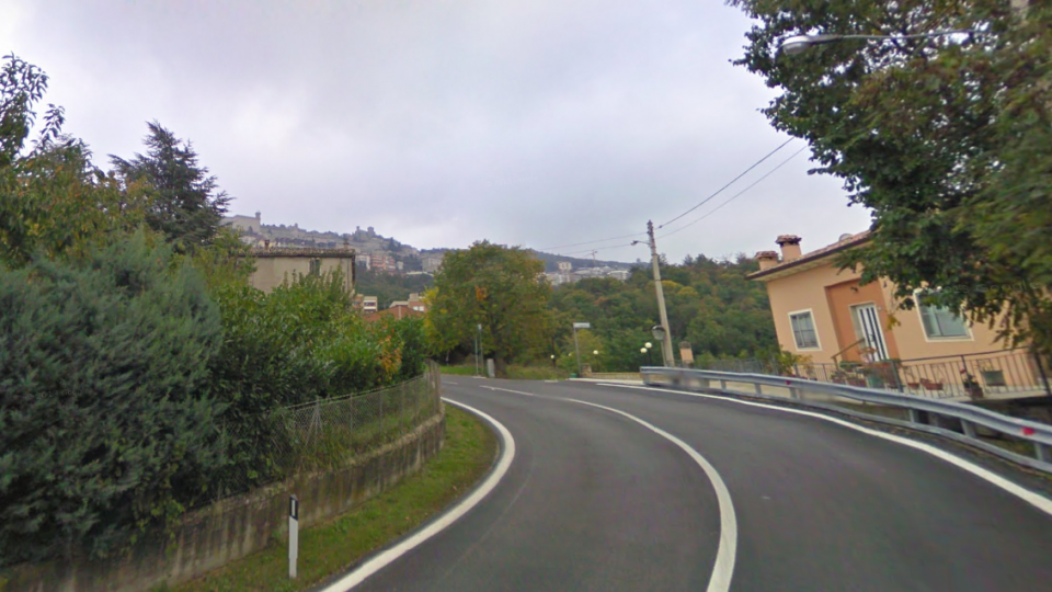Il luogo dell'incidente @google maps