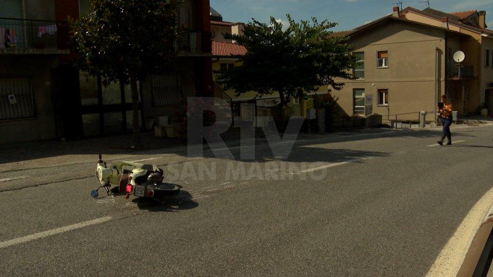 Le immagini dell'incidente a Borgo Maggiore