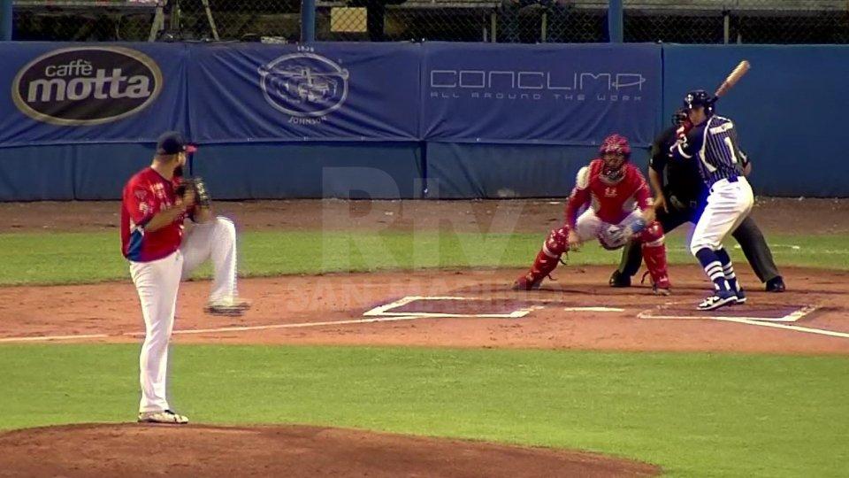 Baseball: Bologna vince Gara 1 della finale, a San Marino non basta il fuoricampo di Giordani