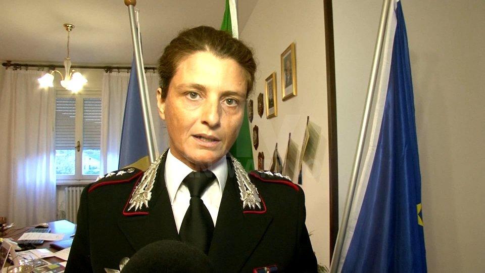 Il Capitano Silvia Guerrini