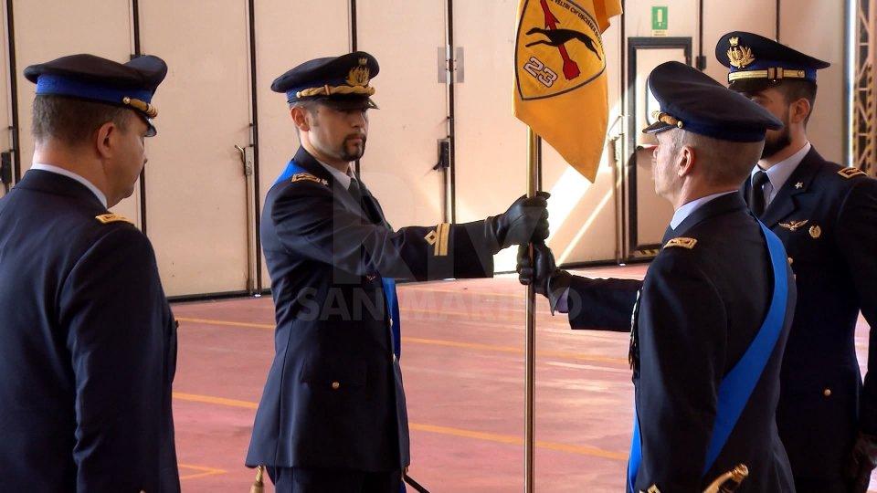 """Nel servizio l'intervista al Col. Diego Sismondini (Comandante 15° Stormo) e al Comandante subentrante 23° Gruppo Volo """"Veltri"""""""