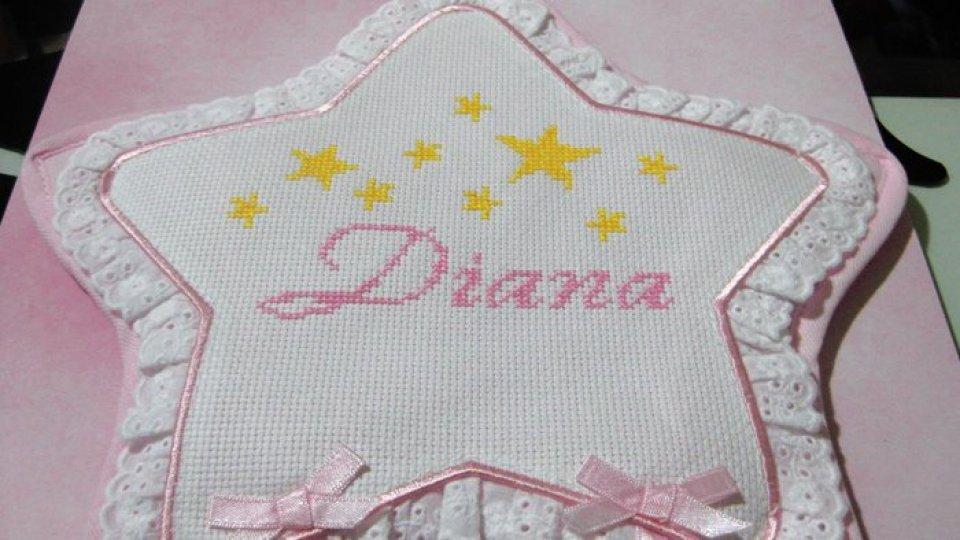 Fiocco rosa alla San Marino Rtv: è arrivata Diana