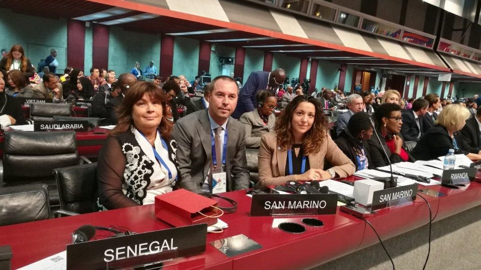 @fbLa delegazione sammarinese