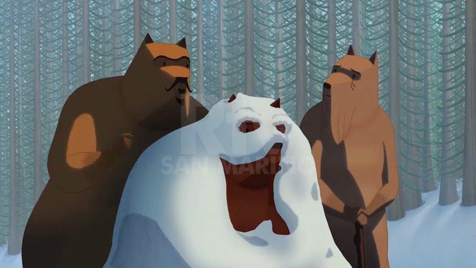 Gli Orsi di Mattotti con la voce di Camilleri