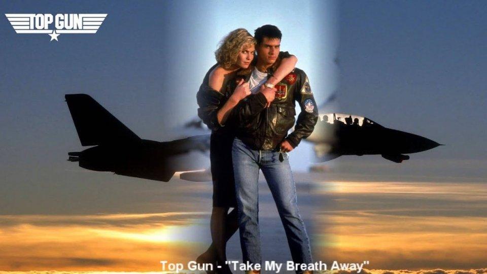 """8 novembre 1986: """"Take My Breath Away"""", colonna sonora del film """"Top Gun"""", è prima in classifica"""