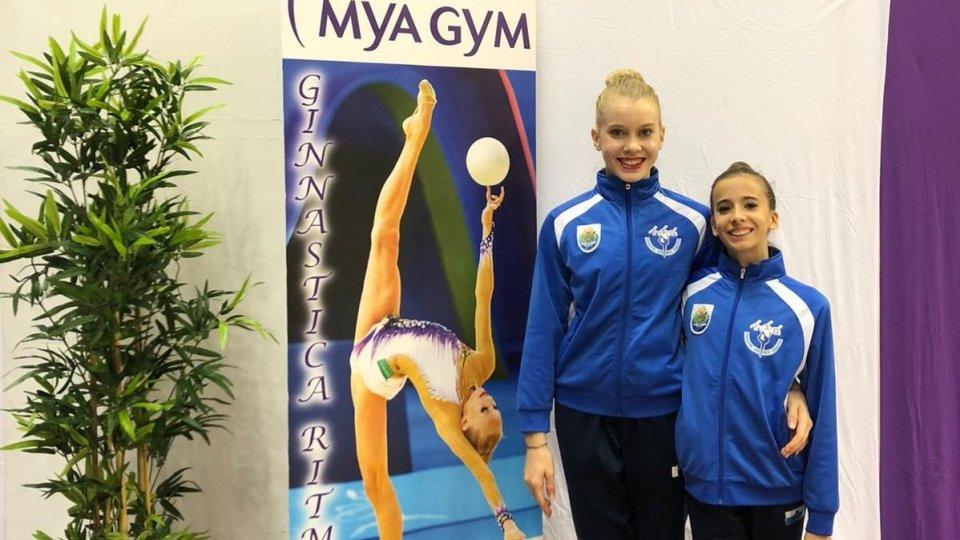 Ginnastica Ritmica, qualificazione ai nazionali e tante soddisfazioni per la Mya Gym