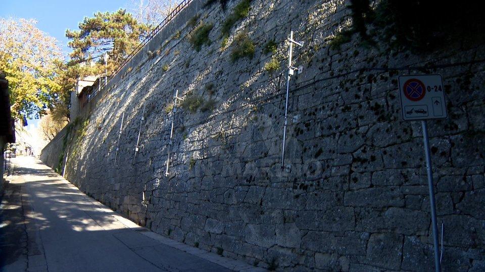 San Marino: al via lavori di consolidamento del muro lungo via della Fratta