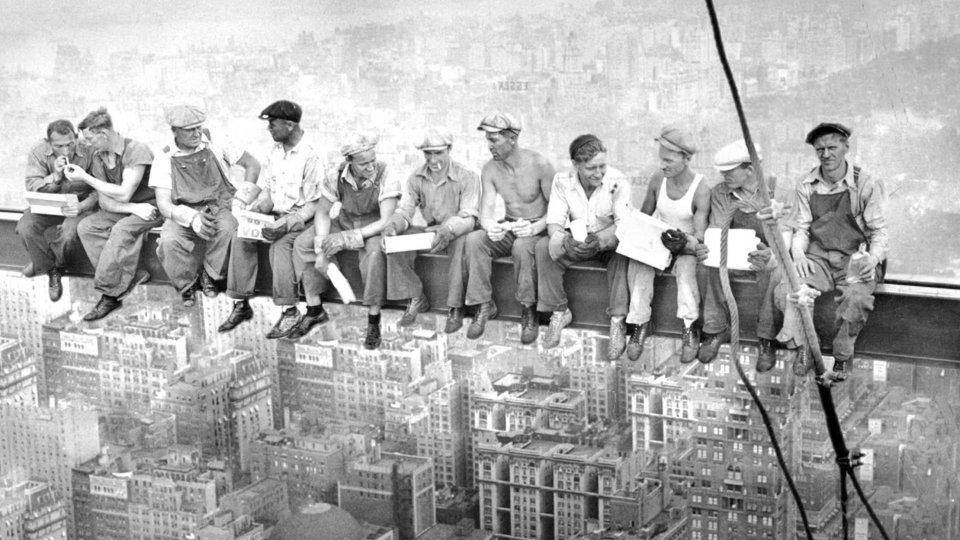 """""""Lunch Atop a Skyscraper"""""""