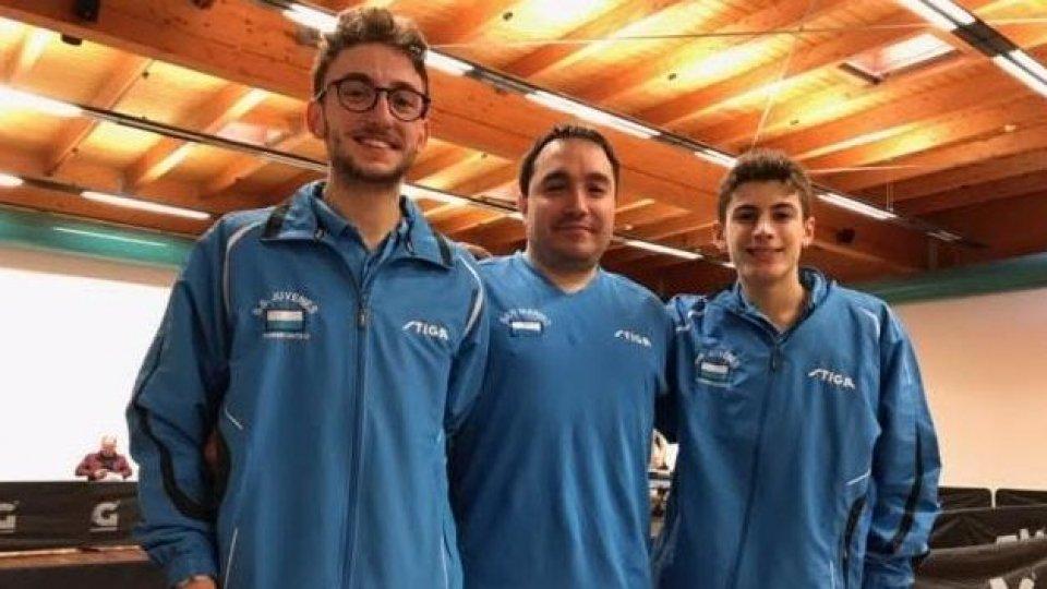 Juvenes risultati Campionati a squadre Tennistavolo