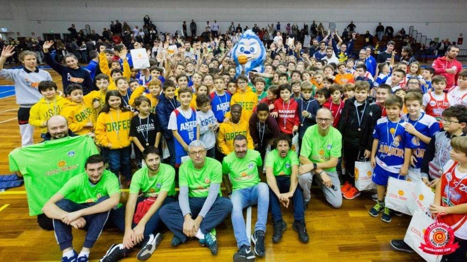 San Marino Minibasket Cup: vince Firenze, Titani ottimi secondi