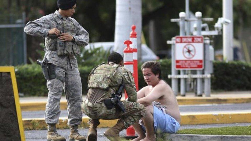 Usa: militare uccide due persone a Pearl Harbour, poi si toglie la vita