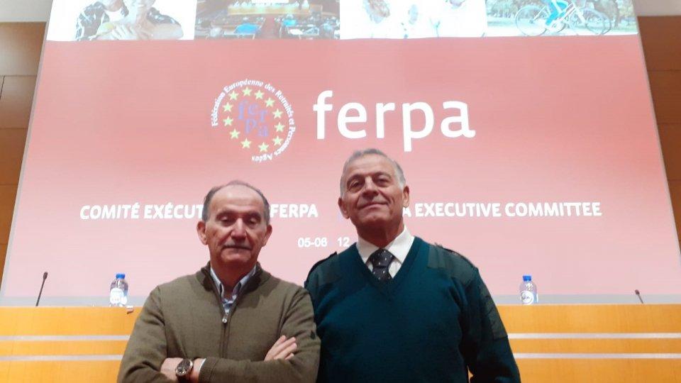 Federpensionati CSU: Pozzi e Stacchini all'Esecutivo Ferpa-Ces