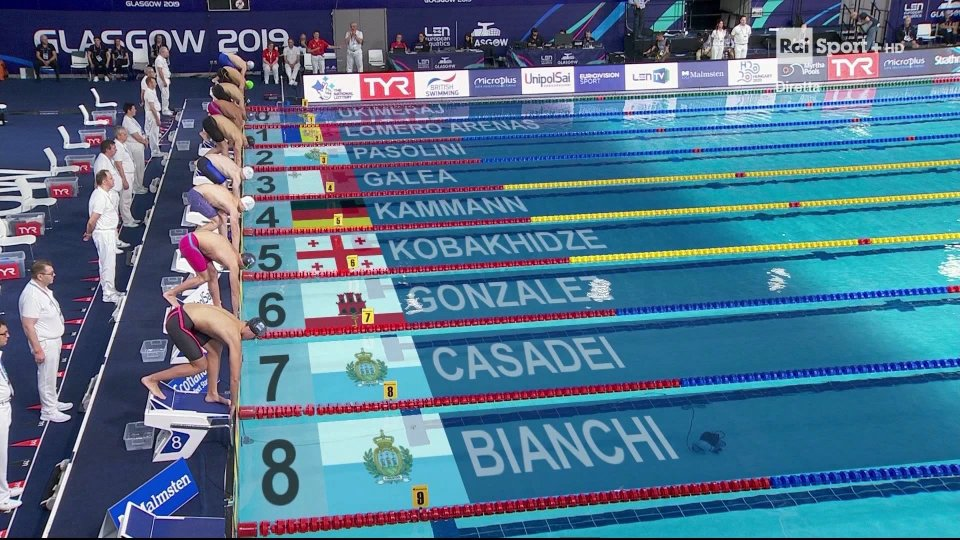 Altri due record personali agli Europei di Glasgow