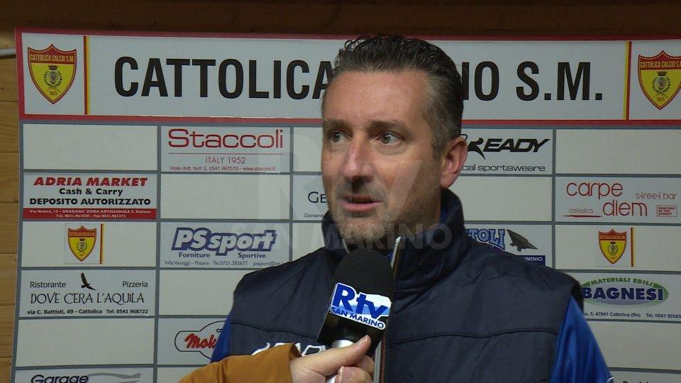 """Cattolica SM-Avezzano, Forchino: """"Nonostante le assenze i ragazzi si son fatti trovare pronti"""""""