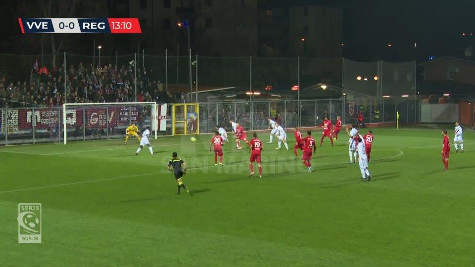Serie C: Virtus Vecomp Verona – Reggiana 1-4