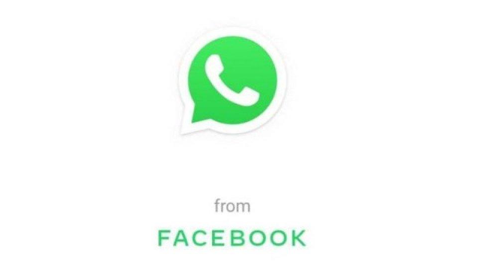 """Perchè su Whatsupp c'è la scritta """"From Facebook"""""""