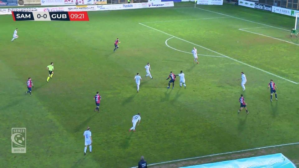 Serie C: la Sambenedettese batte il Gubbio 2-0