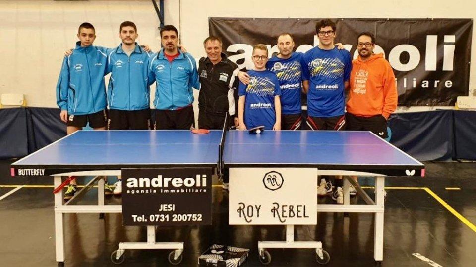 Tennis Tavolo: chiuso il girone di andata della Juvenes
