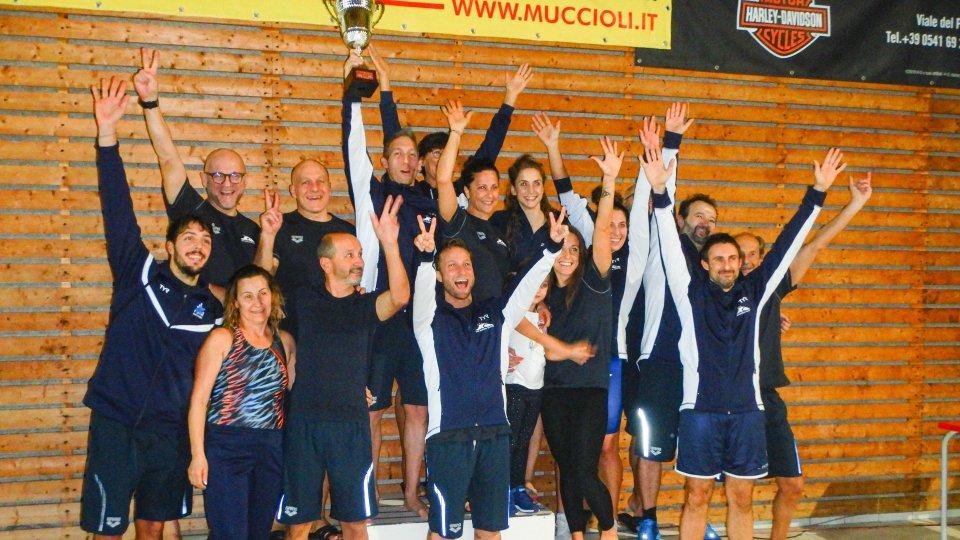 La San Marino Nuoto protagonista al Trofeo Master di Riccione