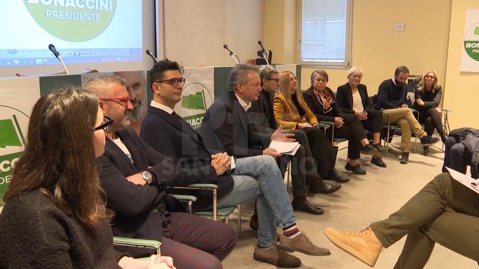 """Lista """"Bonaccini Presidente"""": presentati i 4 candidati"""