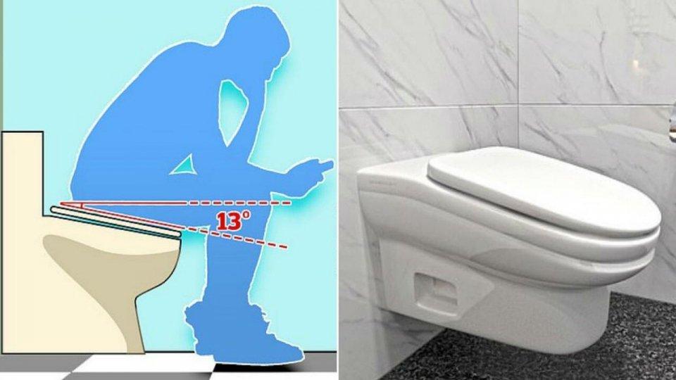 Il wc scomodo per dimezzare le pause in bagno negli uffici