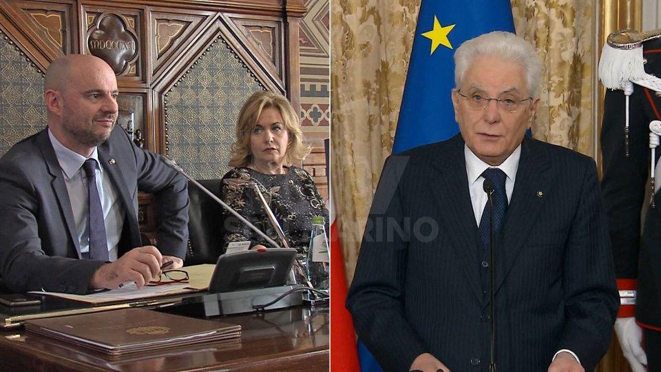 Questa sera i messaggi di fine anno della Reggenza e del Presidente Mattarella