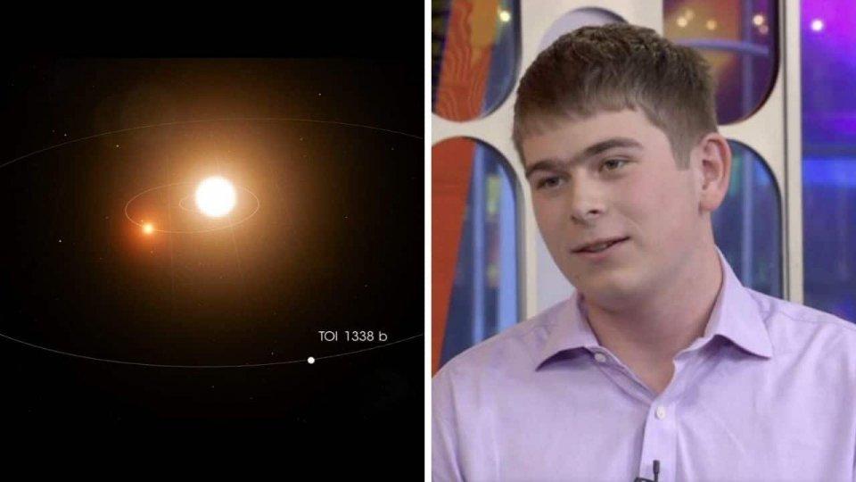 A 17 anni, durante uno stage alla Nasa, scopre un nuovo pianeta