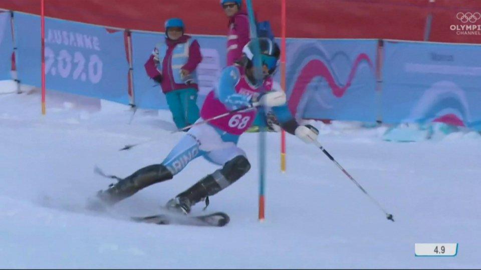 Losanna 2020: Alberto Tamagnini 48° dopo la 1^ manche nello speciale