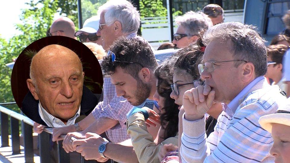 Nel servizio Riccardo Vannucci