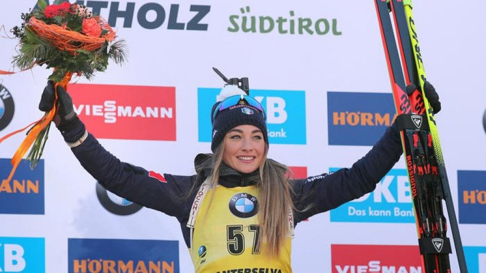 Dorothea Wierer (Ansa)