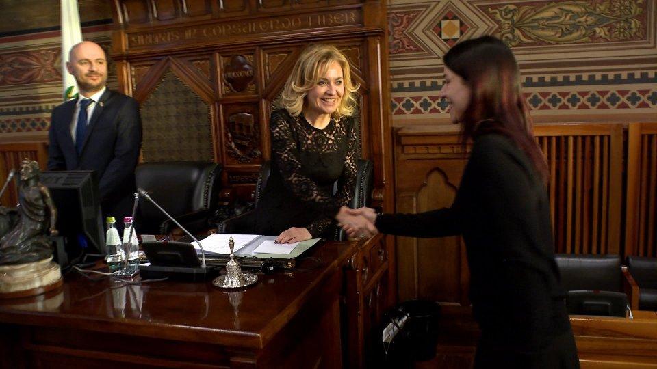 Gloria Arcangeloni torna in Consiglio