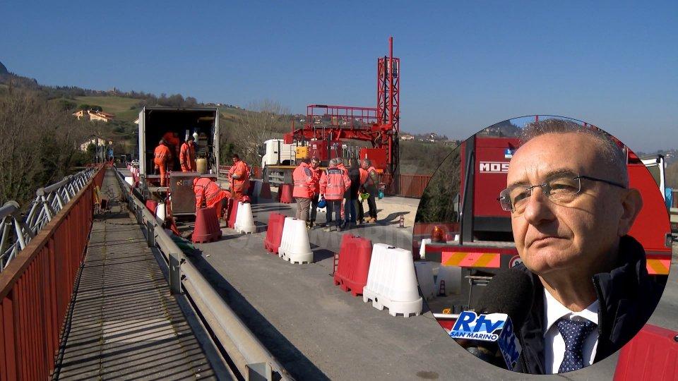 Ponte VerucchioL'intervista al Presidente della Provincia Riziero Santi