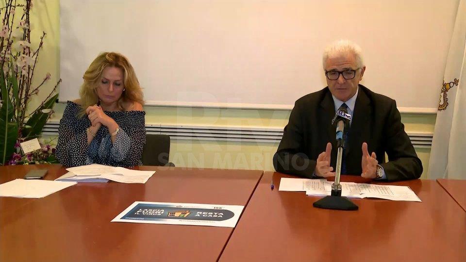Stefania Stefanelli e Gabriele Rinaldi
