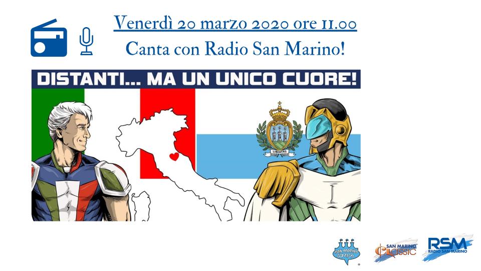 Accendi Radio San Marino e canta con noi!