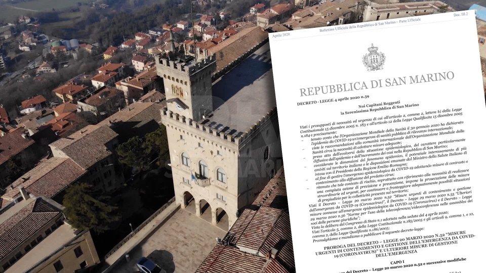 Il nuovo decreto e Palazzo Pubblico