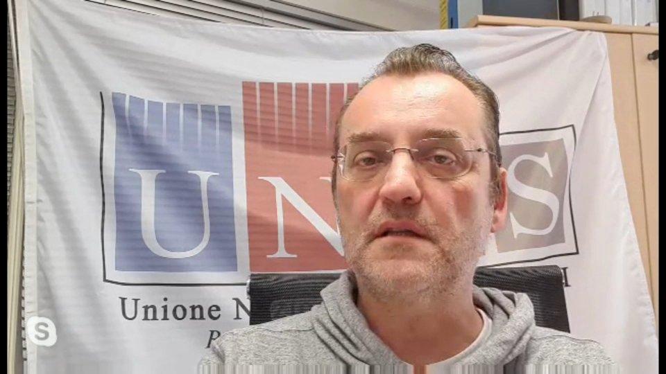 Membri di UNAS in chiamata su skypeNel video l'intervista a Pio Ugolini