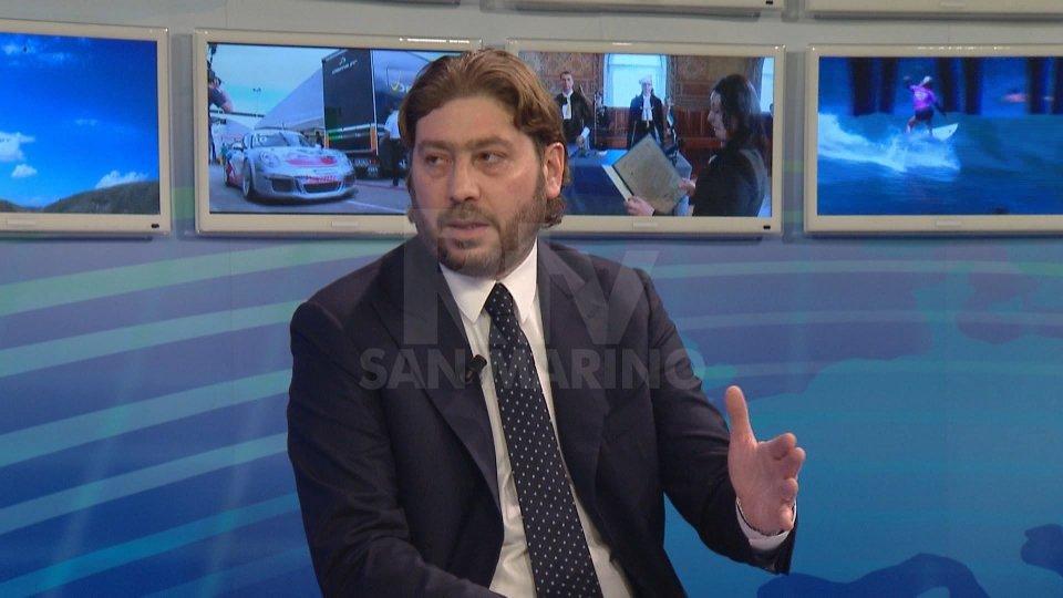 """Il Segretario Pedini AmatiSegretario al Turismo Pedini Amati al Tg San Marino: """"dobbiamo sostenere il comparto"""""""