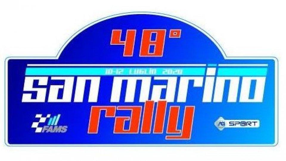 Il rally di San Marino si correrà il 5 settembre